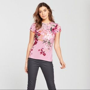 Ted Baker Tops - Ted Baker Evaai Serneity Fitted T-shirt - Lilac
